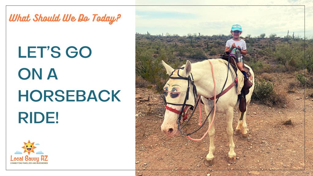 Betty's Trail Rides Phoenix Arizona